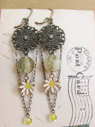 vintage handmade jewelry with steampunk accents handmade jewlery