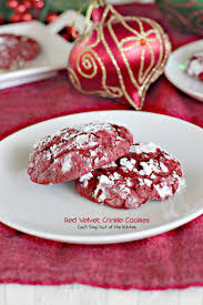 red velvet crinkle cookies can u0027t stay out of the kitchen