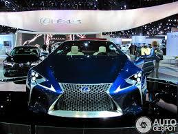 lexus toronto auto show motor show 2013 lexus lf lc concept