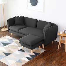 canapé et pouf assorti canapé 2 places et pouf assorti meuble et déco