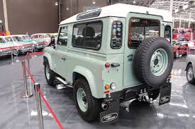 vintage land rover discovery a 2015 land rover defender heritage 90 and a 1948 series 1 land