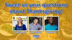 Questions About Thanksgiving Do You Have Questions About Your Upcoming Thanksgiving Meal Tweet