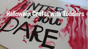fun halloween crafts with toddlers diy youtube