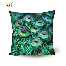 Peacock Feather Home Decor Compare Prices On Peacock Pillow Online Shopping Buy Low Price