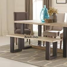 dining room table and chairs two tone