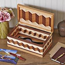 Cool Wood Projects For Gifts by Cool As Marble Business Card Holder Downloadable Plan Wood Magazine