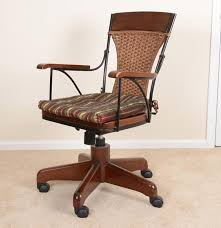 Rattan Desk Chair Outstanding Wicker Desk Chair For Your Home Design Ideas With