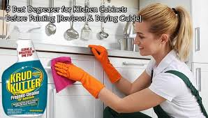best thing to clean grease kitchen cabinets 5 best degreaser for kitchen cabinets before painting