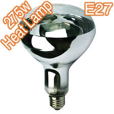 heat light bulbs for bathroom 275w ixl infra red bathroom heat l 240v globe globes bulbs