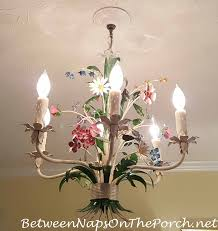Real Candle Chandelier Lighting Realistic