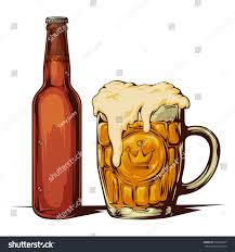 beer bottle cartoon beer bottle beer mug light beer stock vector 532662595 shutterstock