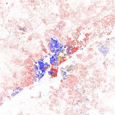 Ethnic Map Usa by Racial Dot Map In La Highlights Segregation By Neighborhood