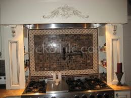 Mediterranean Tiles Kitchen - emperador marble tile kitchen backsplash emperador dark