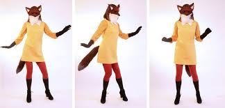 Womens Fox Halloween Costume Homemade Halloween Fantastic Fox Wore