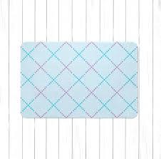 Dot Rug Blue And Purple Lattice Area Rug Or Bath Mat Children U0027s Lattice
