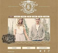 knot wedding website 25 best wedding website designs images on wedding