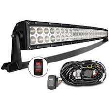 curved marine led light bar mictuning mic bc2180 32 inch 180w combo spot flood beam led lights