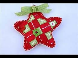 how to make primitive cloth fabric felt cotton ornaments