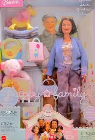 Rocking Horse High Chair Amazon Com Barbie Happy Family Grandma Doll W Grandmother Doll