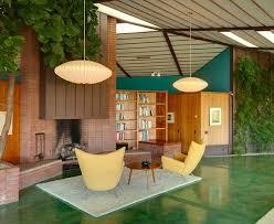 Best Original Vintage Midcentury Interior Design Images On - Interior design mid century modern