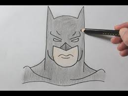 how to draw batman easy drawing tutorial youtube