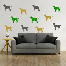 Bedroom Wall Stickers Uk Dog Wall Stickers Iconwallstickers Co Uk