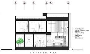modern homes floor plans elegant c section floor plan of modern house home design and