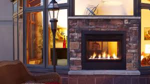 twilight modern indoor outdoor gas fireplace majestic products
