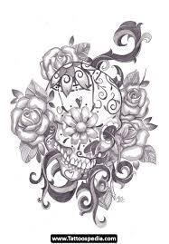dia de los muertos tattoos 15 dio de los muertos pinterest