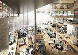 design berlin gallery of oma tops big büro ole scheeren to design axel springer