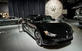 ghibli maserati 2018 2018 maserati ghibli nerissimo black edition serious wheels