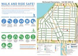 seattle map traffic seattle 5 year safe routes to school plan toole design