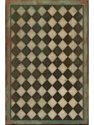 Black And White Checkered Rug Vintage Vinyl Floor Cloths Product Categories Cottage Home