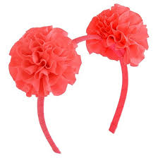 pink headband ear pom headband cat dazzle pink target