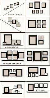 Picture Frame Hanging Ideas 78 Layouts For Hanging Photographs And Artworks On Empty Walls