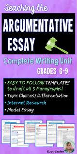 5 paragraph sample essay best 20 argumentative essay ideas on pinterest argumentative argumentative essay argumentative writing unit common core aligned 6 9
