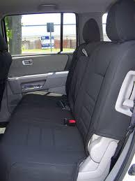 honda pilot seat covers 2014 honda pilot standard color seat covers middle seats okole