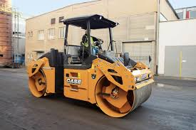 case dv209c double drum roller asphalt roller case construction