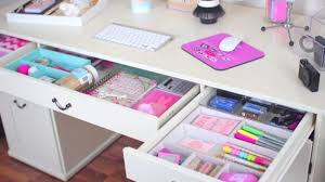 Desk Organize Desk Organization Ideas How To Design A Girly Desktop