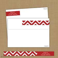 wrap around return address labels chevron return address