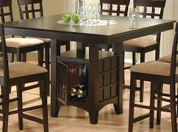 how high is a counter height table square dark height table