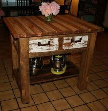 Kitchen Island Chopping Block Rustic Kitchen Island Butcher Blockhome Design Styling
