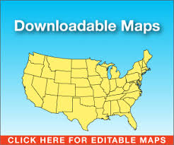 usa map south states us map editable free madrat co