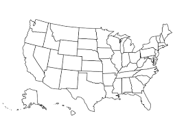 Canada Blank Map Maps Update 851631 Map Usa States 50 States Interactive Maps Us