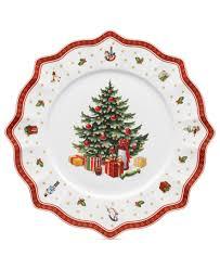 Spode Christmas Tree Santa Cookie Jar by Villeroy U0026 Boch Toy U0027s Delight Buffet Plate Buffet Serveware And