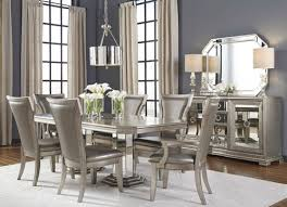 silver dining room couture silver dining set ainezi