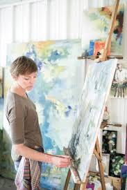 artist teacher mom lives out her dream in a unique studio