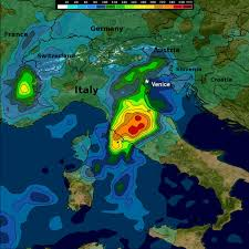 Rainfall Map Usa Heavy Rain Brings Flooding To Central And Northern Italy