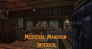 minecraft gundahar tutorials medieval rustic mansion interior