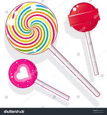 halloween swirl lollipops lollipops suckers vector candy set includes stock vector 35672623